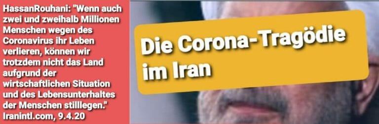 Irans Präsident Rohani hat die angeordnete Quarantäne in den Städten des Landes aufgehoben