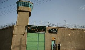Saqqez-Gefängnis, in dem es wegen Corona zu einer Häftlingsrevolte kam