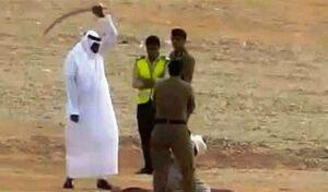 Hinrichtung durch Köpfung in Saudi-Arabien