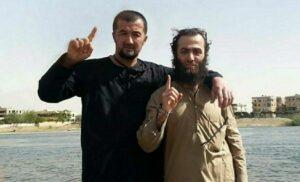 Der aus Tadschikistan stammende Kriegsminister des Islamischen Staates Gulmurod Khalimov in Syrien