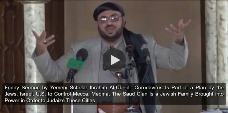 Jemenitscher Gelerhter erklärt in Freitagspredigt Corona zum jüdischen Komplott