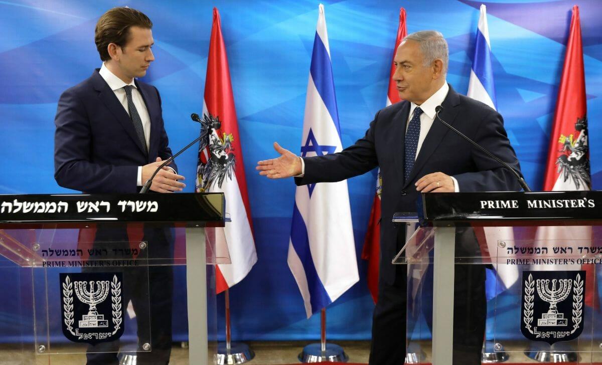 Österreichs Kanzler Kurz und Israels Premier Netanjahu