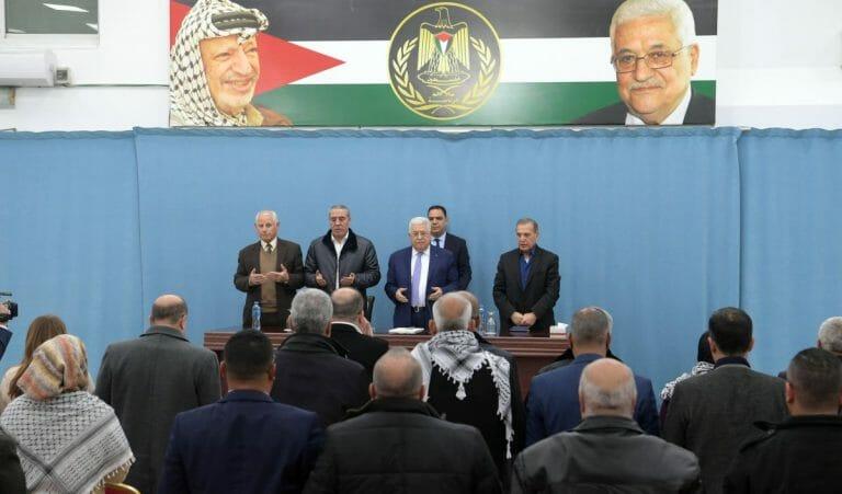 Mahmoud Abbas verkündete die Auflösung aller bestehenden Abkommen mit Israel