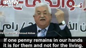 Mahmud Abbas verteidigt die Zahlungen an Terroristen