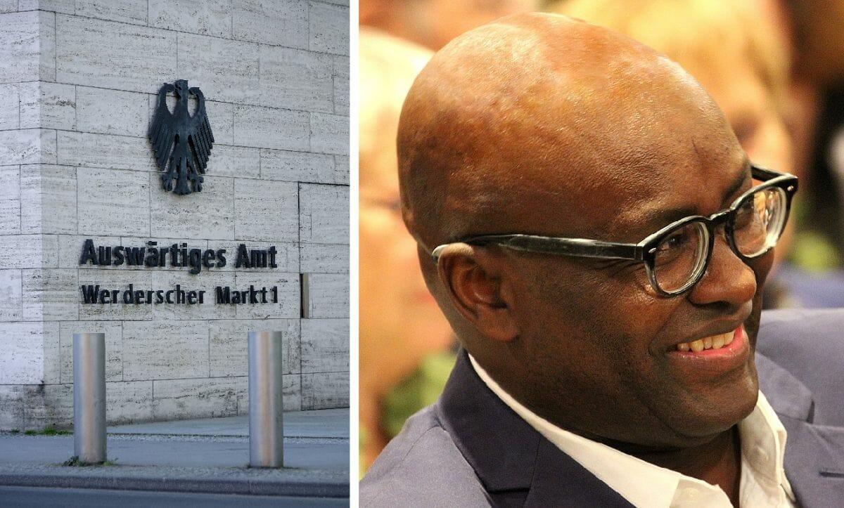 Deutsches Außenministerium, Achille Mbembe