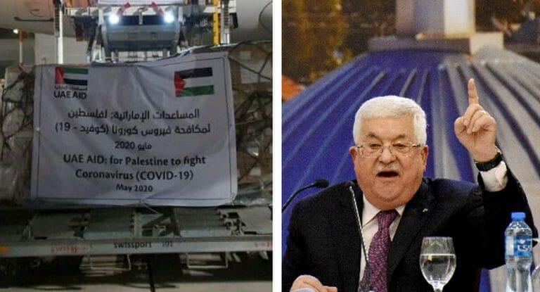 Mahmud Abbas lehnt Corona-Hilfe aus den Vereinigten Arabischen Emiraten ab