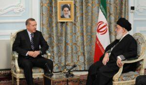 Türkeis Präsident Erdogan und Irans oberster Führer Khamenei