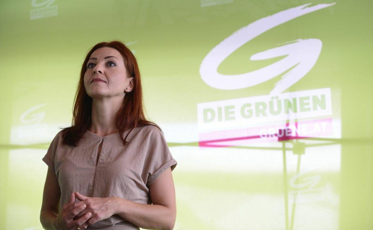 Die Vizechefin des Grünen Klubs im österrichischen Nationalrat Ewa Ernst-Dziedzic