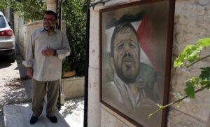 Der Hamas-Mitbergünder Hassab Yousef vor seinem Haus in Ramallah im Westjordanland