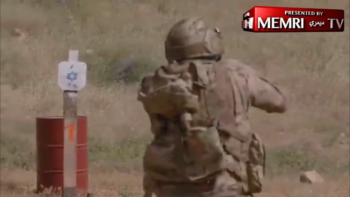 Von iranischer Nachrichtenagentur ausgestrahltes Proagandavideo der Hisbollah