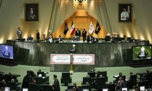 Das iranische Parlament Majlis