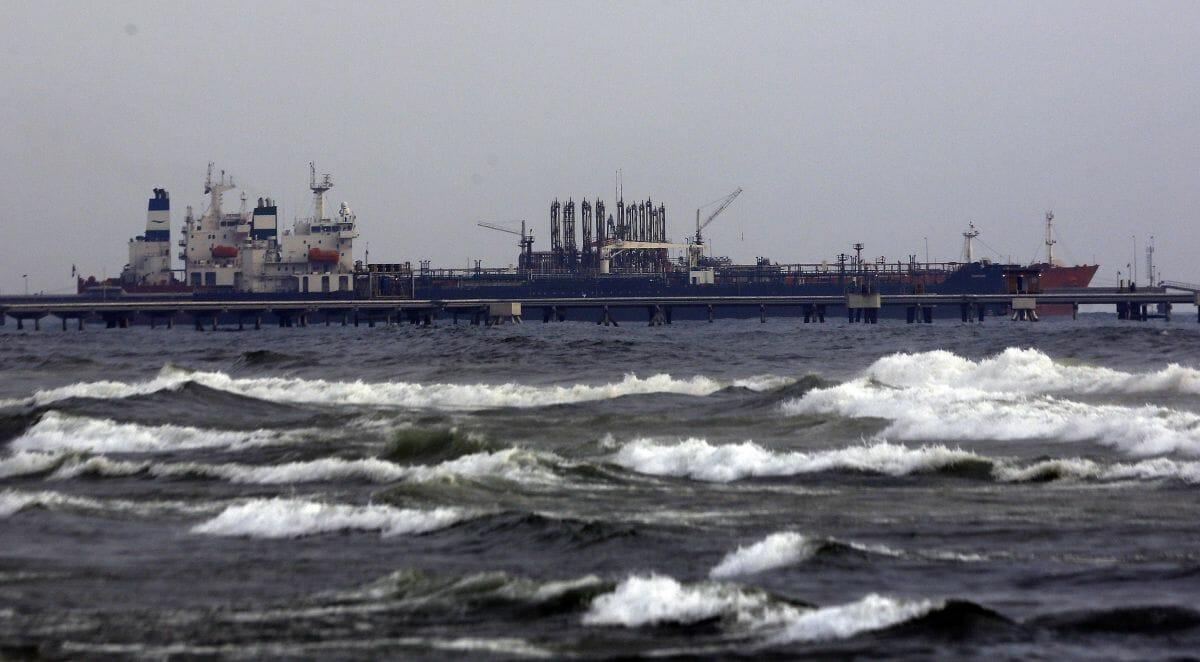 Iranische Öltanker liegen in Venezuela im Hafen von Puerto Cabello vor Anker