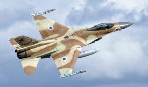 Israelischer F-16-Kampfjet