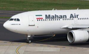 Iranische Luftlinie Mahan Air ignorierte die Corona-Bestimmungen