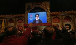 Aus Angst vor einer gezielten Tötung druch Israel tritt Hisbollah-Chef Nasrallah nur noch selten öffentlich auf