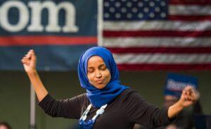 Die US-Kongressabgeordnete Ilhan Omar