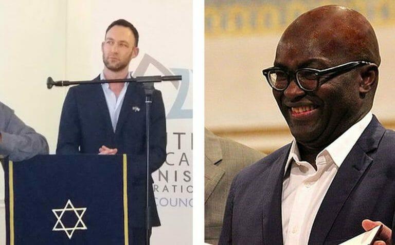 Der Vorsitzende der South African Zionist Federation Rowan Polovin kritisiert Achille Mbembe