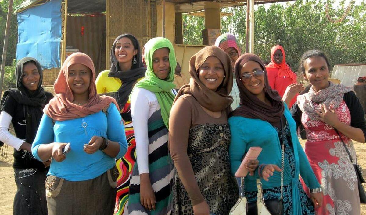 Frauen im Sudan