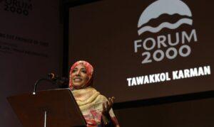 Tawakkol Karman hat in der Vergangenheit ihre Unterstützung der Muslimbruderschaft zum Ausdruck gebracht