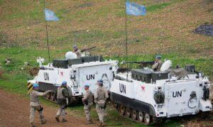 UNIFIL-Soldaten auf Patrouille im Südlibanon