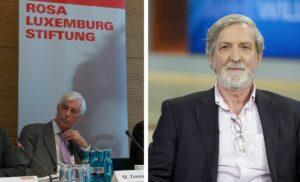 Moshe Zimmermann und Shimon Stein