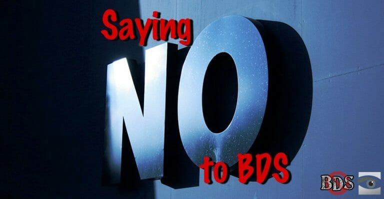 Keine Schönfärberei der Israel-Boykottbewegung (CC BY-SA HonestReporting.com, flickr/biscuitsmlp)