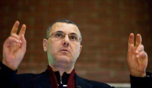 Einer der prominentesten Köpfe der Israel-Boykottbewegung: Omar Barghouti. (imago images/Belga)