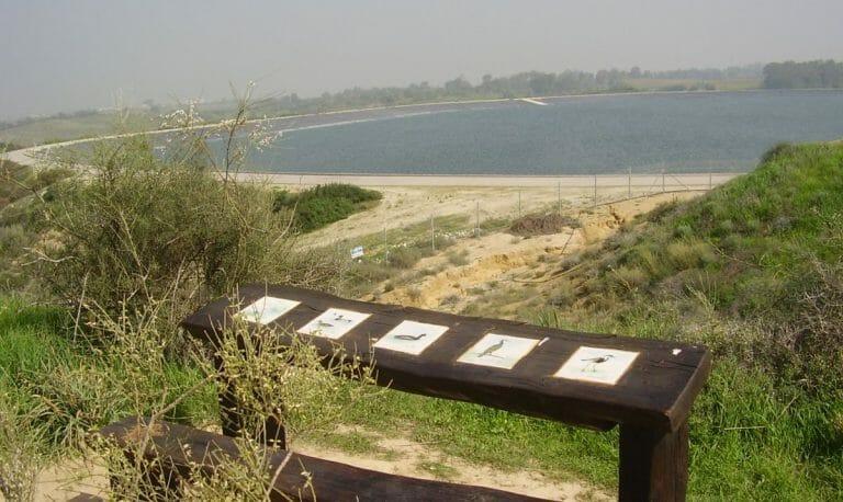 Das israelische Wasserresevoir Nir Am