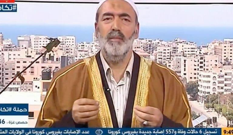 """Der Islamgelehrte Taher al-Lulu möchte die USA und die """"Söhne Zions"""" brennen sehen"""