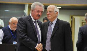 Zwei antiisraelische Hardliner in der EU: Luxemburgs Außenminister Asselborn und EU-Außenkommissar Borell