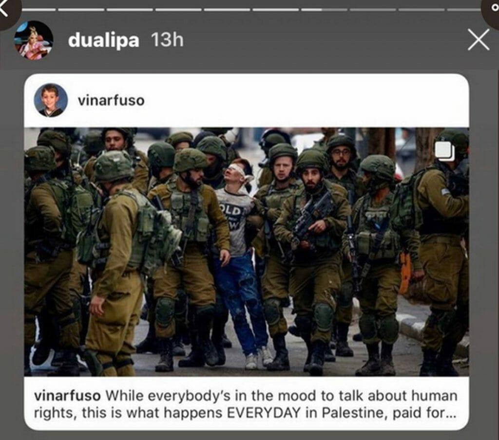 Instagram-Beitrag von Dua Lipa