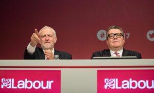 Labour-Chef Jeremy Corbyn mit seinem damaligen Stellvertreter Tom Watson