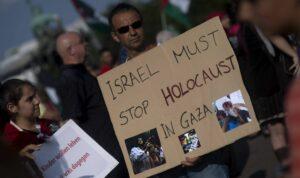 Antiisraelische Demonstration in Berlin