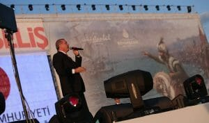 Erdogan auf einem Festakt anlässich des Jahrestags der osmanischen Eroberung Konstantionopels
