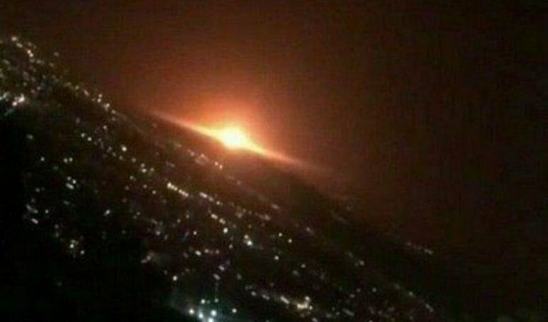 Explosion auf dem Militärstützpunkt Parchin im Iran