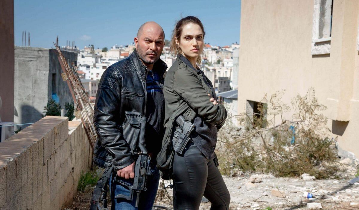 Lior Raz und Rona-Lee Shim onin der 3. Staffel von Fauda