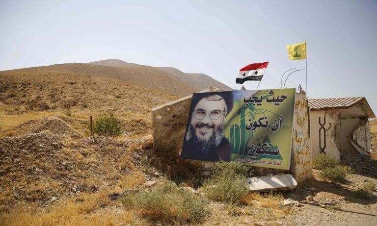 Die Hisbollah in Syrien soll in die iranischen Stellungen verlegt worden sein