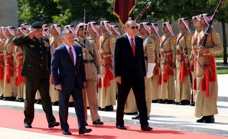 König Hussein von Jordanien will Erdogans Einfluss auf dem Temeplberg zurückdrängen