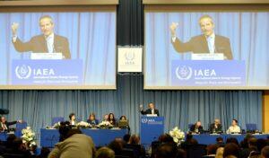Der Leiter der UN-Atomenergiebehörde Rafael Mariano Grossi