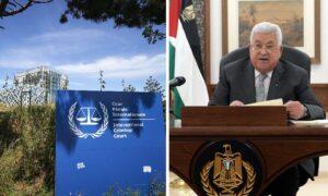 Abbas ließ Sequenzen aus einem Dokument streichen, das er dem Internationalen Strafgerichtshof vorlegte