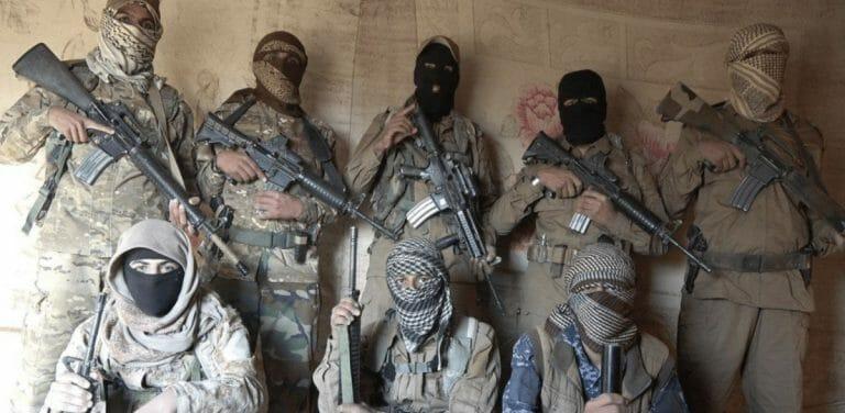 Kämpfer des Islamischen Staates