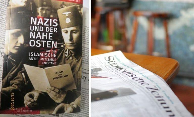 """René Wildangel rezensierte in der Süddeutschen Zeitung Matthias Küntzels Buch """"Nazis und der Nahe Osten"""""""