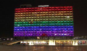 Die Stadtverwaltung von Tel Avivi während der Pride-Woche