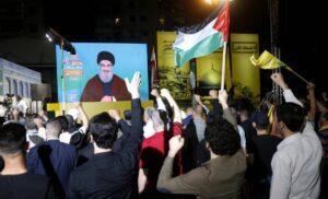 Videoansprache: Seit dem Krieg von 2006 versteckt sich Hisbollah-Chef Nasrallah vor den Israelis in einem Bunker