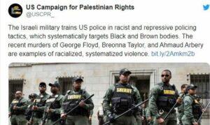 Immer wieder wird behauptet, US-Polizisten lernten Polizeigwalt in Israel