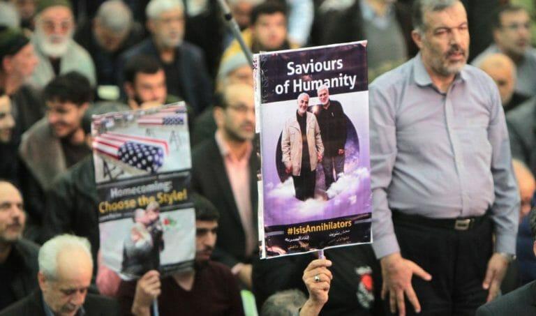 Trauerfeier für den getöteten Revolutionsgardenkommandanten Qassem Soleimani