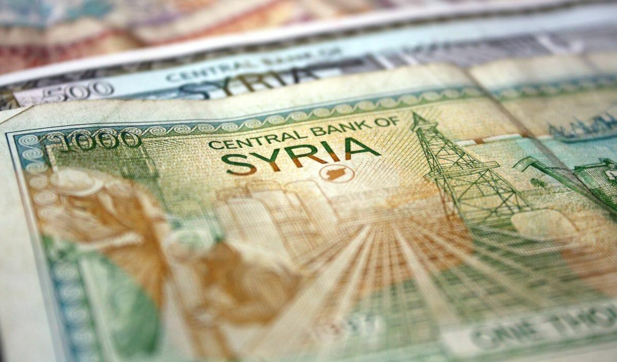 Das syrische Pfund ist auf einen neuen Tiefstand gefallen