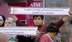 Palästinenser protestieren für den Erhalt der Konten für Terrorrenten