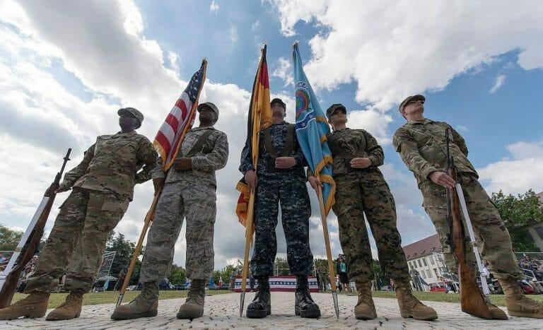 Mitglieder des US Africa Command
