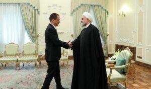 Venezuelas Außenminister Jorge Arreaza auf Staatsbesuch im Iran